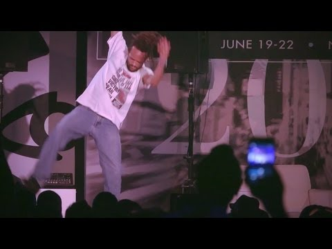 Savion Glover performs at ABFF 2014