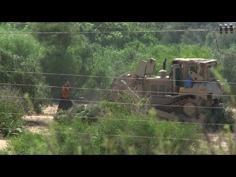 Egypt army combs Gaza border for tunnels after attack