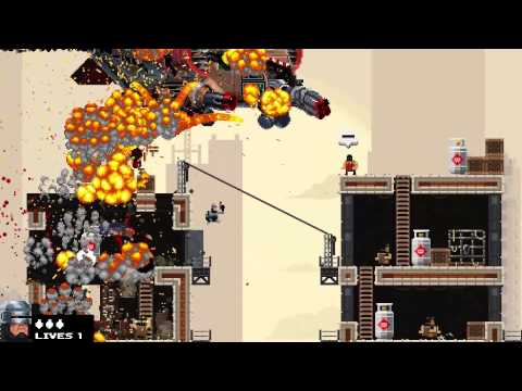 BROFORCE - THIS LEVEL SUX AND IZ RLY HARD
