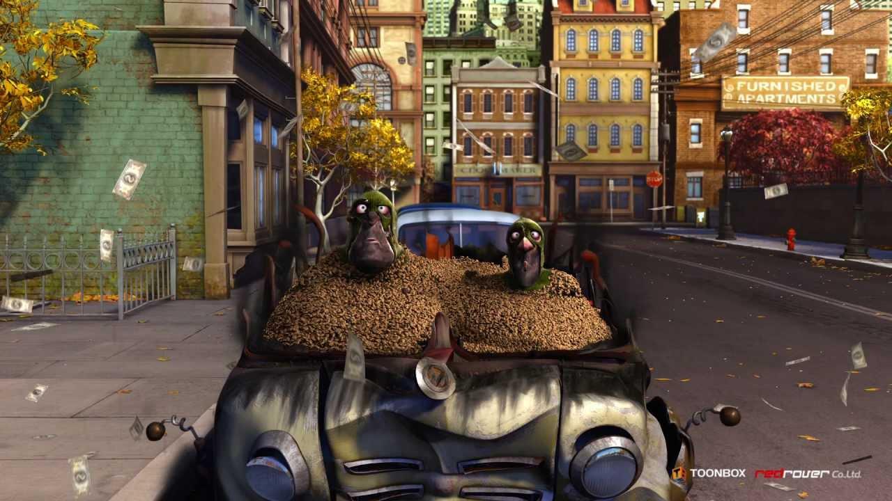 Белка, орехи и грабители