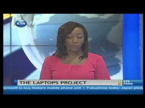 President Uhuru Kenyatta  appeal to teachers to support laptop project