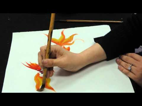 0 Chinese brush painting basics   gold fish