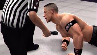 WWE '13 Wrestlemania 29: Undertaker Vs John Cena (I Quit