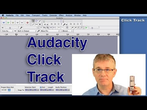 Audacity How to Record | Click Track | How to Make and Use in Audacity | An Easy Tutorial