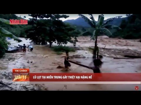 Tin Thời Sự Hôm Nay (6h30 - 16/10/2016): Lũ Lụt Tàn Phá Miền Trung Kinh Hoàng