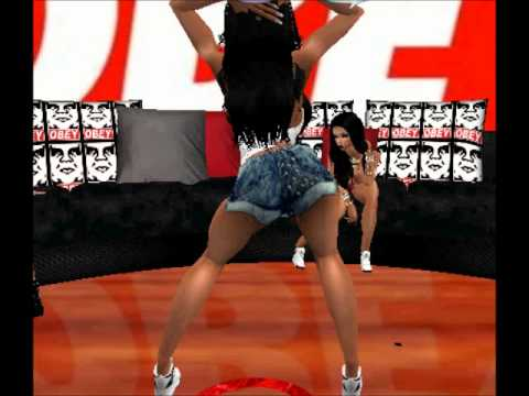 Twerk Team Of IMVU- A$$ - YouTube