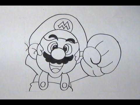 Graffitis de Mario Bros a lapiz - Imagui