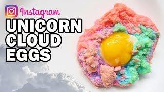 DIY Unicorn Cloud Eggs - Man Vs Instagram #3