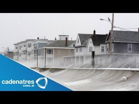 Tormenta invernal azota a Estado Unidos / Winter storm whips United States