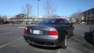 Maserati Coupe GT - Larini Exhaust and X-pipe