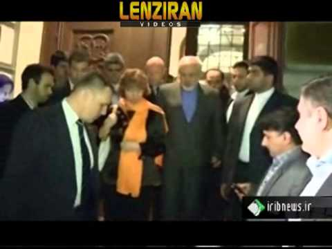 Third round of nuclear negotiation between Javad Zarif & Catherine Ashton in Vienna