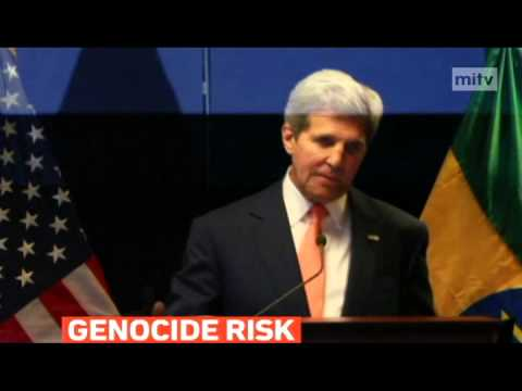 mitv - John Kerry warned the risk of genocide and famine in South Sudan