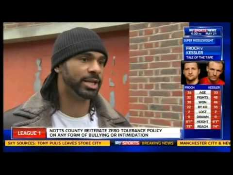 David Haye 'Froch-Kessler Rematch Is A Genuine 50/50 Fight'