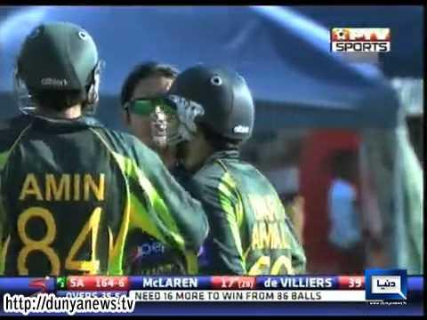 Dunya News-World T20,Pakistan v/s SA Players profile