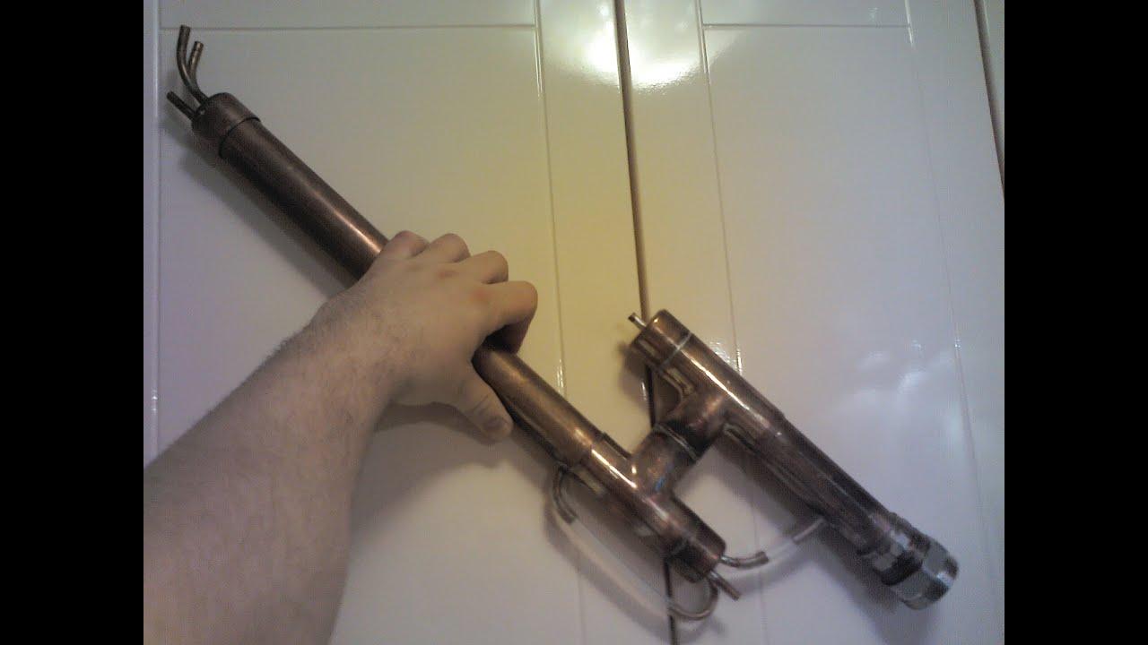 Дефлегматор своими руками из медной трубы