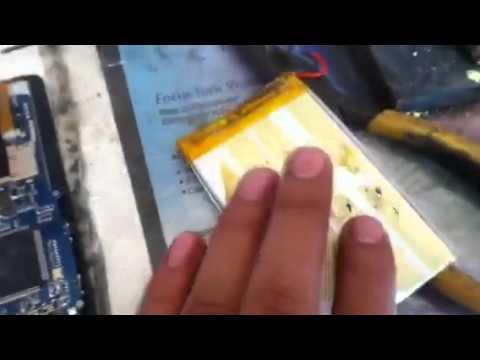 Cambiar bateria a tableta china usando bateria de celular