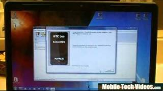 HTC HD2 (How to flash a Custom WINDOWS MOBILE 6.5 ROM) *PART 2* view on youtube.com tube online.