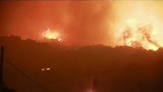 حريقان في جزيرة كورسيكا يتسببان في إجلاء 700 شخص | قنوات أخرى