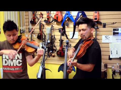 Mirrors- Justin Timberlake (Music Video Violin Cover by David Wong and Paul Dateh)