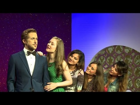 Ryan Gosling wax figure makes debut at Madame Tussauds