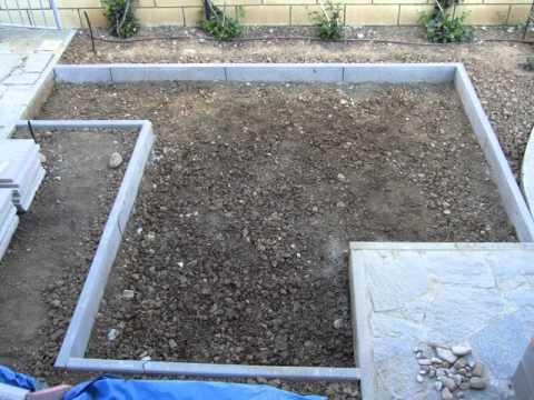 Pavimentazione giardino youtube - Asciugatura massetto per piastrelle ...