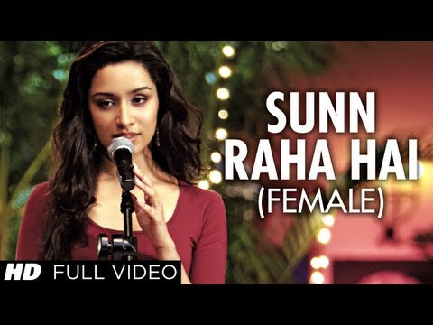 Sunn Raha Hai Na Tu Female Version By Shreya Ghoshal  Aashiqui 2 Full Video Song |