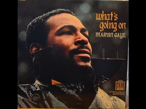 Marvin Gaye  What's Going On Full album vinyl LP (Original Mix)