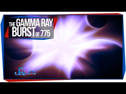 The Gamma Ray Burst of 775