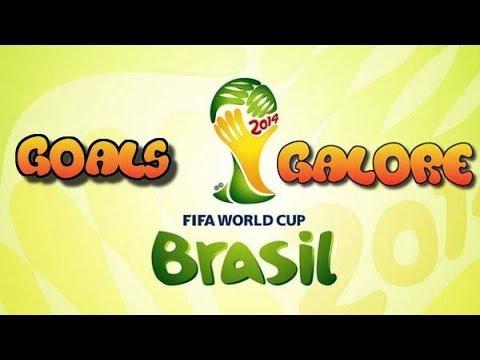 Goals Galore World Cup HD #1 - Brazil vs Croatia 0-1 Marcelo Own Goal!