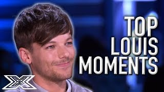 Louis Tomlinson's TOP Moments On The X Factor UK! | X Factor Global