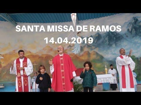 0:02 / 1:14:05 Santa Missa de Ramos | 14.04.2019 | Padre José Sometti | ANSPAZ