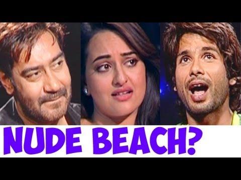 Have Sonakshi Sinha, Shahid Kapoor, John Abraham, Imran Khan & Ajay Devgn ever been to a Nude Beach?