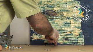 Pintar objetos de madera