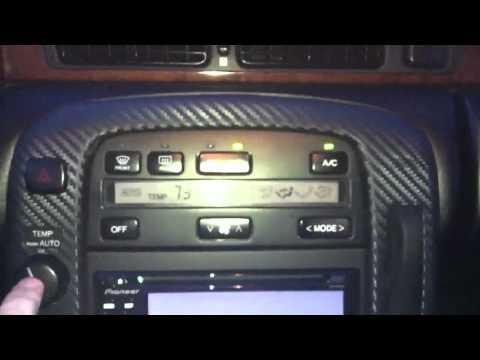 Эксклюзивный Lexus с тюненным двигателем 2JZ-GTE