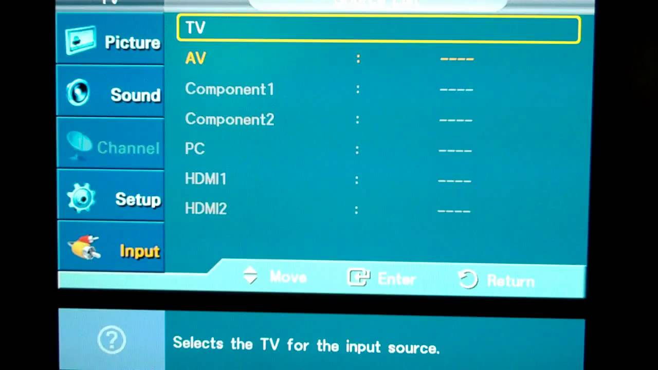 Solving The Samsung Hdtv Quot Pc Input Is Greyed Out Quot Problem