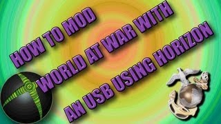 How To Mod World At War Zombies Online Usb Xbox 360 With