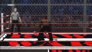 WWE ´12 One On One Hell In A Cell Jeff Hardy Vs The