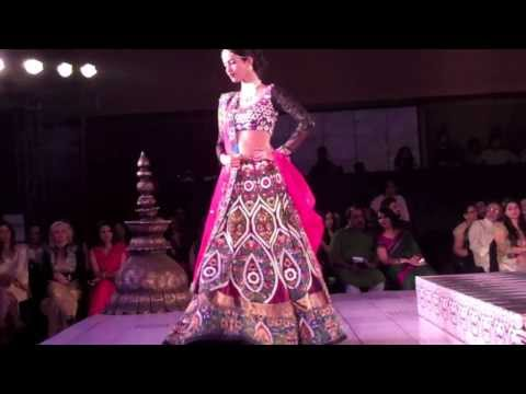 Neha Dhupia Walks for Niki Mahajan Prive Couture