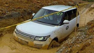 Countersteer | Range Rover tackles deep water crossing