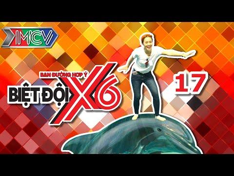 Biệt Đội X6 - Tập 17 | Sao Việt hoảng sợ khi phải ăn sâu - đuông dừa | Diệp Bảo Ngọc.