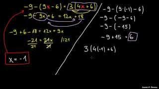 Težje enačbe 3