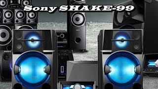 Lançamento 2014 Mini System Sony SHAKE-99