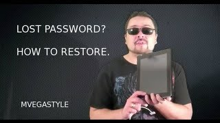 Lost Password How To Restore Your IPad
