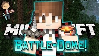 Minecraft: BATTLE-DOME w/Mitch & Friends Part 2 - BEST ENDING!