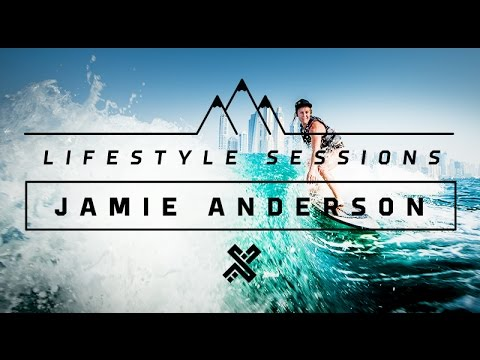 Lifestyle Sessions: Jamie Anderson 1st Visit to Dubai