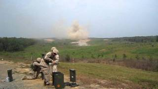 81mm morter - 5 skud på 6 sek