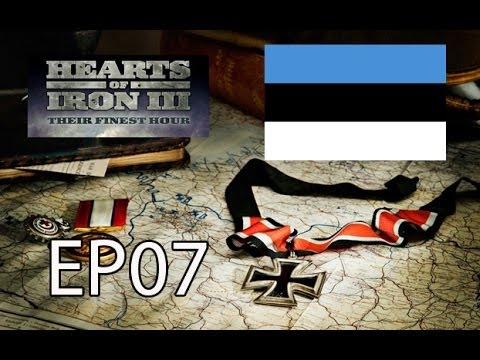Hearts of Iron III TFH - Estonia World Conquest EP07