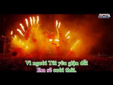 Karaoke HD Nguoi Toi Yeu Remix Melody Chi Dan
