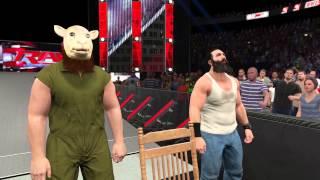 WWE 2K15: Entrada de la familia Wyatt