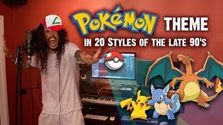 Pokemon Theme Song In 20 1990's Styles